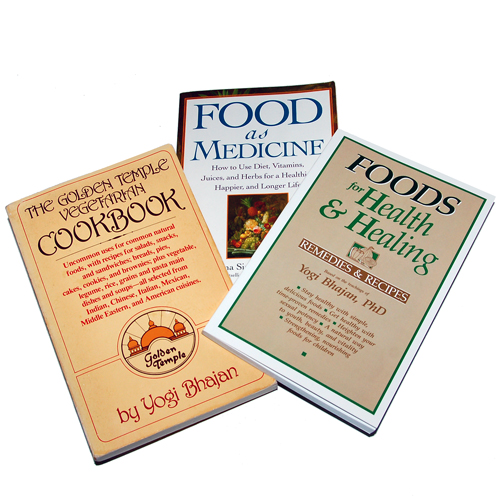 The cooking books