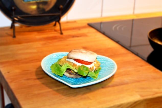 Lentil burger