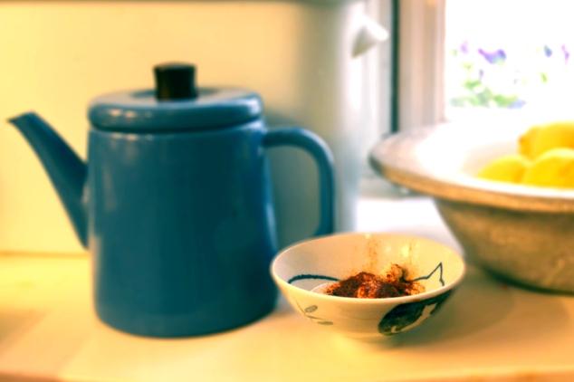 Nötter och yoghurt